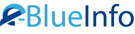 Brand e-BlueInfo
